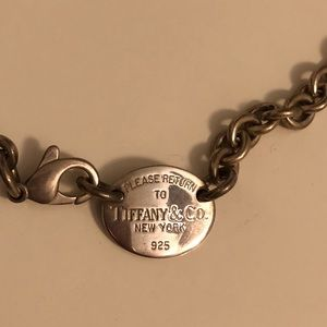 Tiffany Dog Tag Necklace